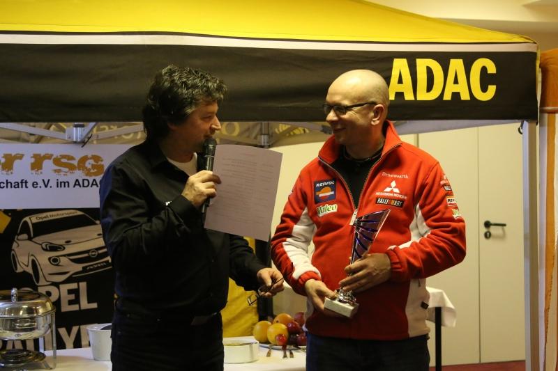 Ehrung des 2. im DMSB Rallye Cups