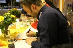 Unterschrift des neuen stellv. Vorsitzenden